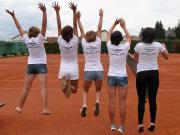 2016 - Aufstieg Damen - Team backside
