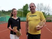 Sieger Saisoneroeffnung 2014 Svenja Petri und Volker Traut